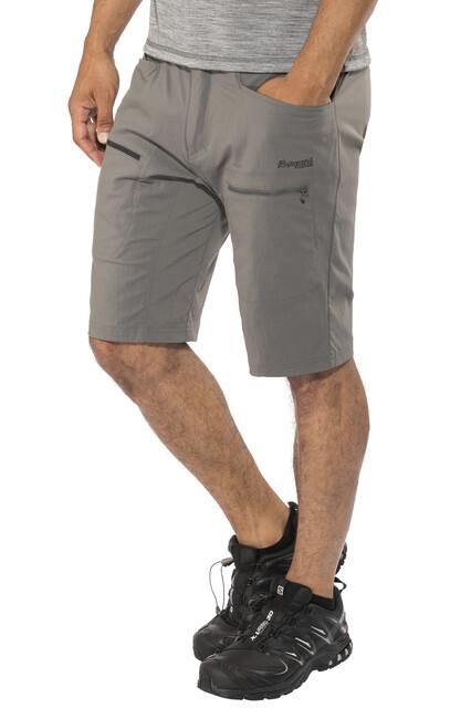 Bergans Utne Shorts Herrer, solid dark greysolid charcoal